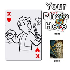 King Falloutdeckcustome By Brianna   Playing Cards 54 Designs   Eq69alyb12u2   Www Artscow Com Front - HeartK