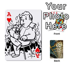 Ace Falloutdeckcustome By Brianna   Playing Cards 54 Designs   Eq69alyb12u2   Www Artscow Com Front - HeartA