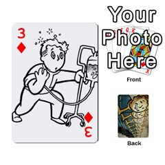 Falloutdeckcustome By Brianna   Playing Cards 54 Designs   Eq69alyb12u2   Www Artscow Com Front - Diamond3