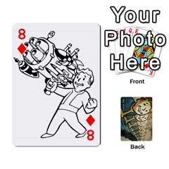 Falloutdeckcustome By Brianna   Playing Cards 54 Designs   Eq69alyb12u2   Www Artscow Com Front - Diamond8