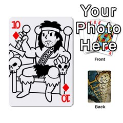 Falloutdeckcustome By Brianna   Playing Cards 54 Designs   Eq69alyb12u2   Www Artscow Com Front - Diamond10