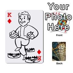 King Falloutdeckcustome By Brianna   Playing Cards 54 Designs   Eq69alyb12u2   Www Artscow Com Front - DiamondK
