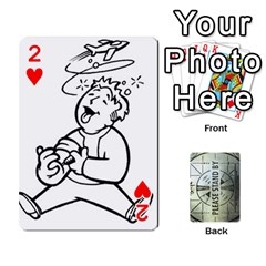 Falloutdeckcustomg By Brianna   Playing Cards 54 Designs   Ax0xu8rdmgjf   Www Artscow Com Front - Heart2