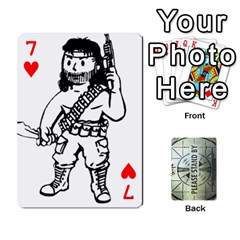 Falloutdeckcustomg By Brianna   Playing Cards 54 Designs   Ax0xu8rdmgjf   Www Artscow Com Front - Heart7