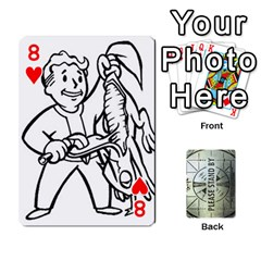 Falloutdeckcustomg By Brianna   Playing Cards 54 Designs   Ax0xu8rdmgjf   Www Artscow Com Front - Heart8