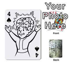 Falloutdeckcustomg By Brianna   Playing Cards 54 Designs   Ax0xu8rdmgjf   Www Artscow Com Front - Spade4