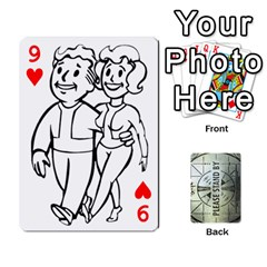 Falloutdeckcustomg By Brianna   Playing Cards 54 Designs   Ax0xu8rdmgjf   Www Artscow Com Front - Heart9