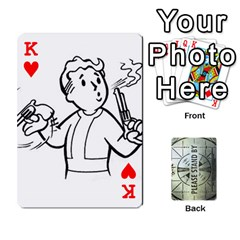 King Falloutdeckcustomg By Brianna   Playing Cards 54 Designs   Ax0xu8rdmgjf   Www Artscow Com Front - HeartK