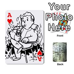 Ace Falloutdeckcustomg By Brianna   Playing Cards 54 Designs   Ax0xu8rdmgjf   Www Artscow Com Front - HeartA