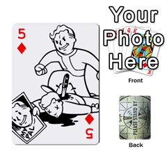 Falloutdeckcustomg By Brianna   Playing Cards 54 Designs   Ax0xu8rdmgjf   Www Artscow Com Front - Diamond5