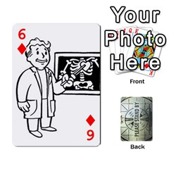 Falloutdeckcustomg By Brianna   Playing Cards 54 Designs   Ax0xu8rdmgjf   Www Artscow Com Front - Diamond6