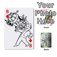 Falloutdeckcustomg By Brianna   Playing Cards 54 Designs   Ax0xu8rdmgjf   Www Artscow Com Front - Diamond8