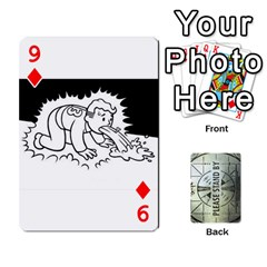 Falloutdeckcustomg By Brianna   Playing Cards 54 Designs   Ax0xu8rdmgjf   Www Artscow Com Front - Diamond9