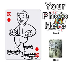 King Falloutdeckcustomg By Brianna   Playing Cards 54 Designs   Ax0xu8rdmgjf   Www Artscow Com Front - DiamondK