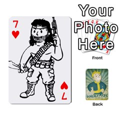 Falloutdeckcustomf By Brianna   Playing Cards 54 Designs   Y7q4x4qxm9eb   Www Artscow Com Front - Heart7