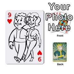Falloutdeckcustomf By Brianna   Playing Cards 54 Designs   Y7q4x4qxm9eb   Www Artscow Com Front - Heart9