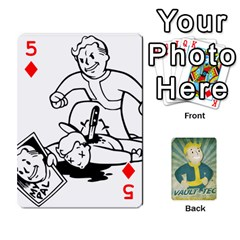 Falloutdeckcustomf By Brianna   Playing Cards 54 Designs   Y7q4x4qxm9eb   Www Artscow Com Front - Diamond5