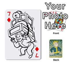 Falloutdeckcustomf By Brianna   Playing Cards 54 Designs   Y7q4x4qxm9eb   Www Artscow Com Front - Diamond7