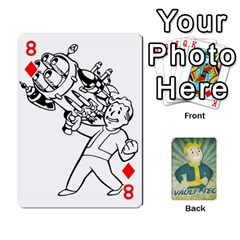 Falloutdeckcustomf By Brianna   Playing Cards 54 Designs   Y7q4x4qxm9eb   Www Artscow Com Front - Diamond8