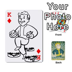 King Falloutdeckcustomf By Brianna   Playing Cards 54 Designs   Y7q4x4qxm9eb   Www Artscow Com Front - DiamondK