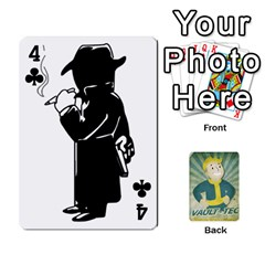 Falloutdeckcustomf By Brianna   Playing Cards 54 Designs   Y7q4x4qxm9eb   Www Artscow Com Front - Club4