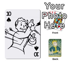 Falloutdeckcustomf By Brianna   Playing Cards 54 Designs   Y7q4x4qxm9eb   Www Artscow Com Front - Spade10