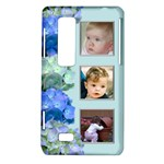 Blue and Silver LG Optimus 3d P920/Thrill 4g P925 Case - LG Optimus Thrill 4G P925 Hardshell Case