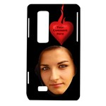 Flaming Heart LG Optimus 3D P920/Thrill 4G P925 Case - LG Optimus Thrill 4G P925 Hardshell Case