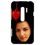 Flaming Heart HTC Evo 3D Hardshell Case - HTC Evo 3D Hardshell Case