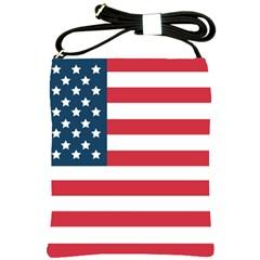 Flag Messenger Bag by tammystotesandtreasures