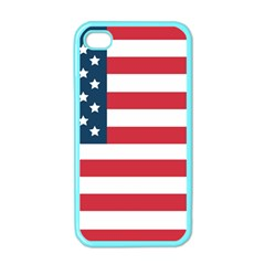 Flag Apple Iphone 4 Case (color) by tammystotesandtreasures