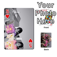 Cards By Kelly Hearn   Playing Cards 54 Designs   Pxmlsm7hezka   Www Artscow Com Front - Heart5