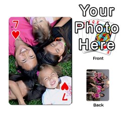 Cards By Kelly Hearn   Playing Cards 54 Designs   Pxmlsm7hezka   Www Artscow Com Front - Heart7
