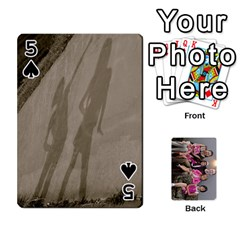 Cards By Kelly Hearn   Playing Cards 54 Designs   Pxmlsm7hezka   Www Artscow Com Front - Spade5