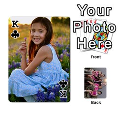 King Cards By Kelly Hearn   Playing Cards 54 Designs   Pxmlsm7hezka   Www Artscow Com Front - ClubK