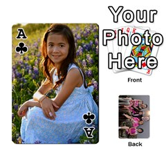 Ace Cards By Kelly Hearn   Playing Cards 54 Designs   Pxmlsm7hezka   Www Artscow Com Front - ClubA