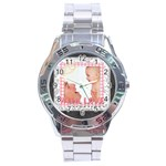 with love - Stainless Steel Analogue Watch