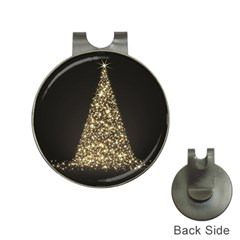 Christmas Tree Sparkle Jpg Hat Clip With Golf Ball Marker by tammystotesandtreasures