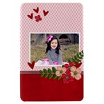 Kindle Fire Hardshell Case- Hearts and Flowers - Kindle Fire (1st Gen) Hardshell Case