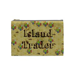 Island Trader #1 (m) By Karsten   Cosmetic Bag (medium)   Ow2g5hne63fh   Www Artscow Com Front