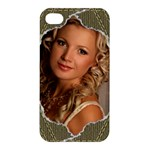 Torn Appl;e iPhone 4/4S Hardshell Case - Apple iPhone 4/4S Hardshell Case