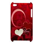 Love red Apple Ipod Touch 4g Case - Apple iPod Touch 4G Hardshell Case