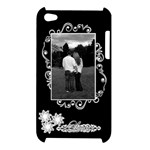 Love black white Apple Ipod Touch 4g Case - Apple iPod Touch 4G Hardshell Case