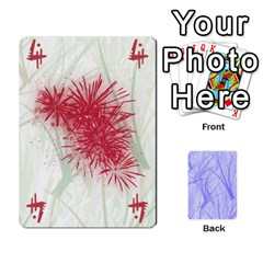 Ace My Hanabi By Chris Rompot   Playing Cards 54 Designs   Bd8cphq6oaz1   Www Artscow Com Front - DiamondA