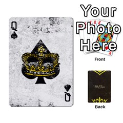 Queen Fallout   Ultra Luxe Deck By Casualtv   Playing Cards 54 Designs   V5s4xewluy6x   Www Artscow Com Front - SpadeQ