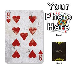 Fallout   Ultra Luxe Deck By Casualtv   Playing Cards 54 Designs   V5s4xewluy6x   Www Artscow Com Front - Heart9