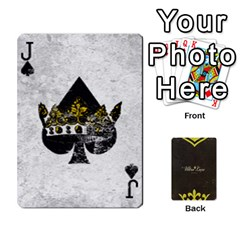 Jack Fallout   Ultra Luxe Deck By Casualtv   Playing Cards 54 Designs   V5s4xewluy6x   Www Artscow Com Front - SpadeJ