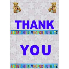 Thank You Teacher By Malky   Thank You 3d Greeting Card (7x5)   M4a26p63dsls   Www Artscow Com Inside