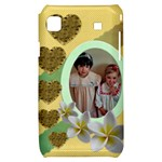 Hearts and Flowers Samsung Galaxy S i9000 Hardshell - Samsung Galaxy S i9000 Hardshell Case