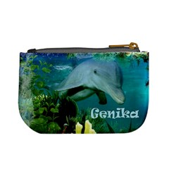 Genika Purse By Jennifer Shaw   Mini Coin Purse   1bupf23chjpc   Www Artscow Com Back